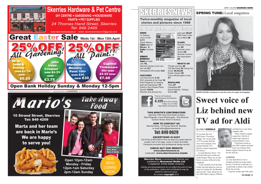 Skerries News April 2015