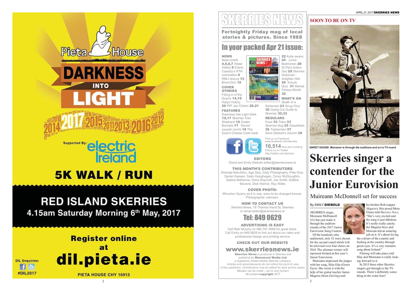 Skerries News April 21st 2017
