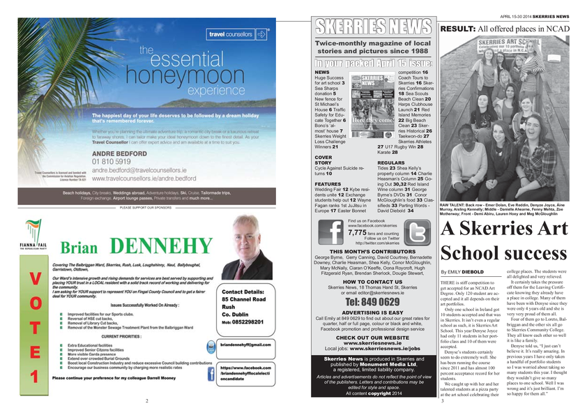 Skerries News April Mid 2014
