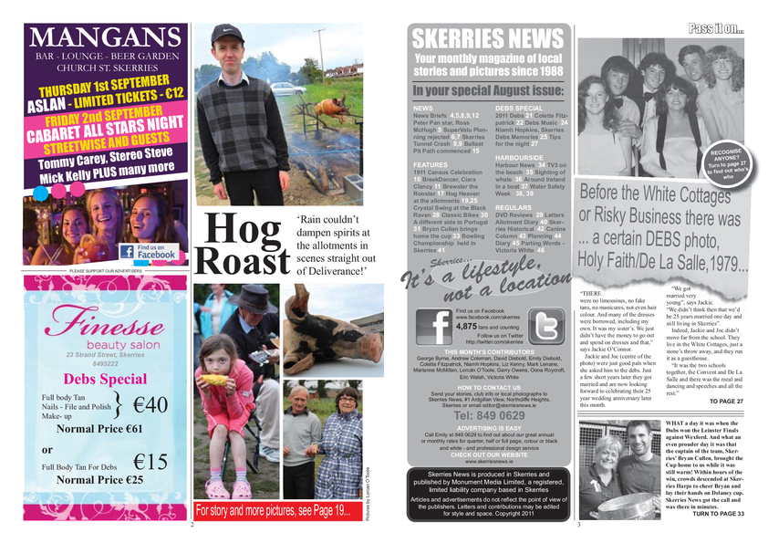 Skerries News August Mid 2011