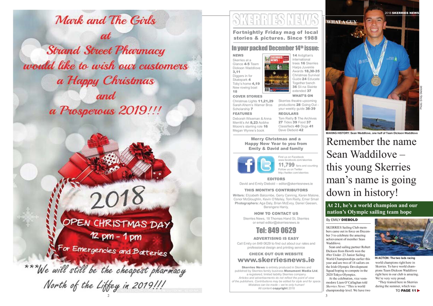 Skerries News December 14th 2018