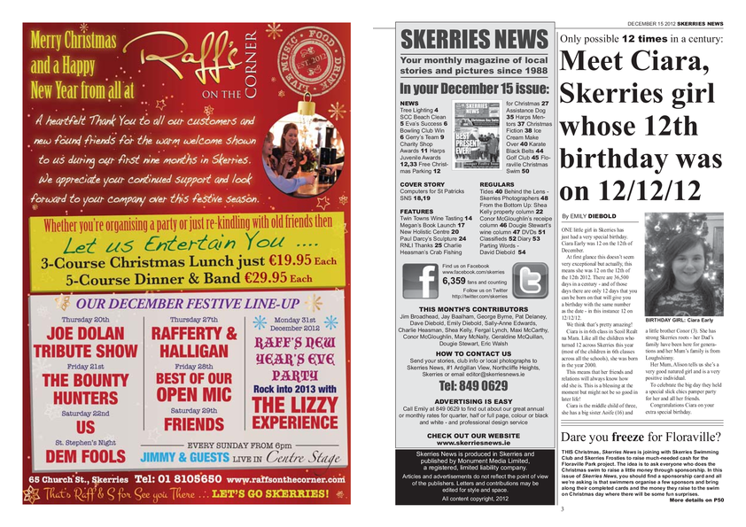Skerries News December Mid 2012