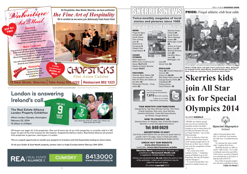 Skerries News February 2014