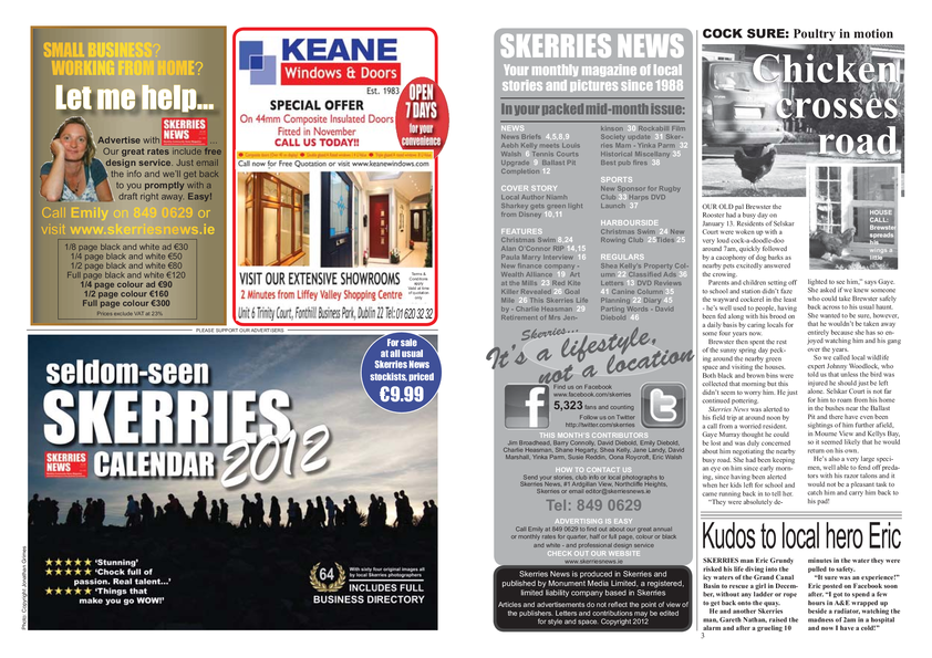 Skerries News January Mid 2012