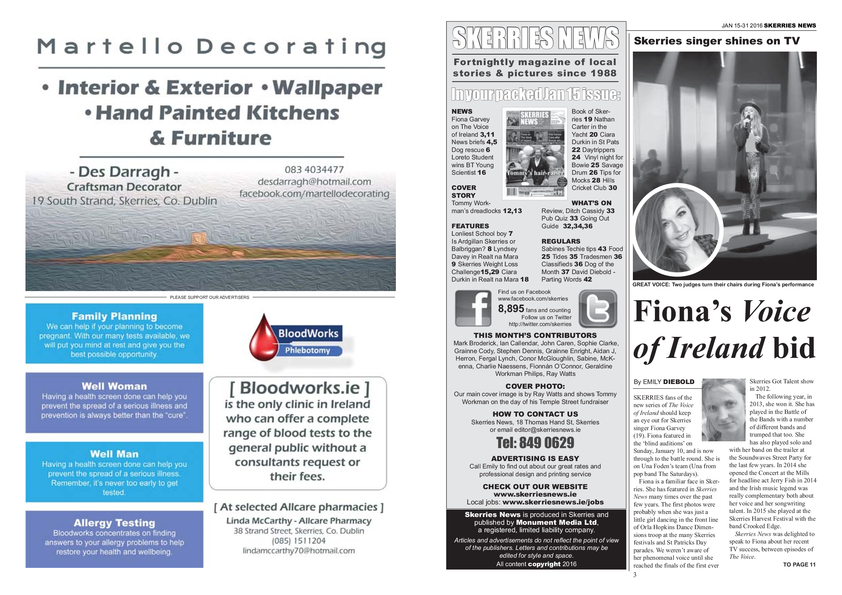 Skerries News January Mid 2016