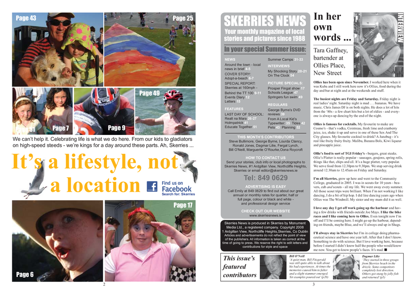 Skerries News July Aug 2009