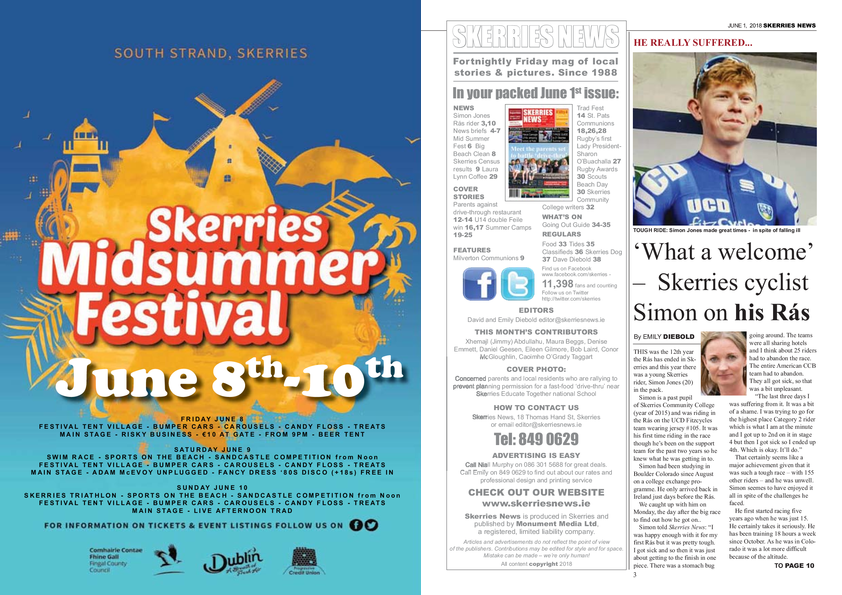 Skerries News June 1st 2018