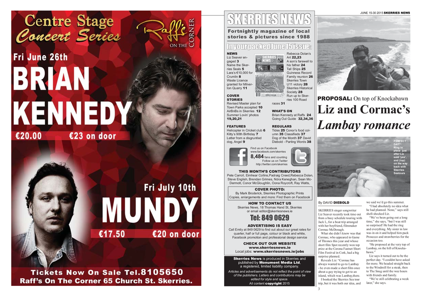 Skerries News June Mid 2015