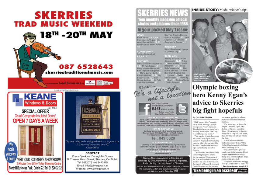Skerries News May 2012