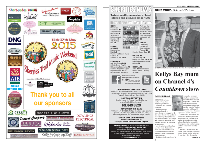 Skerries News May 2015