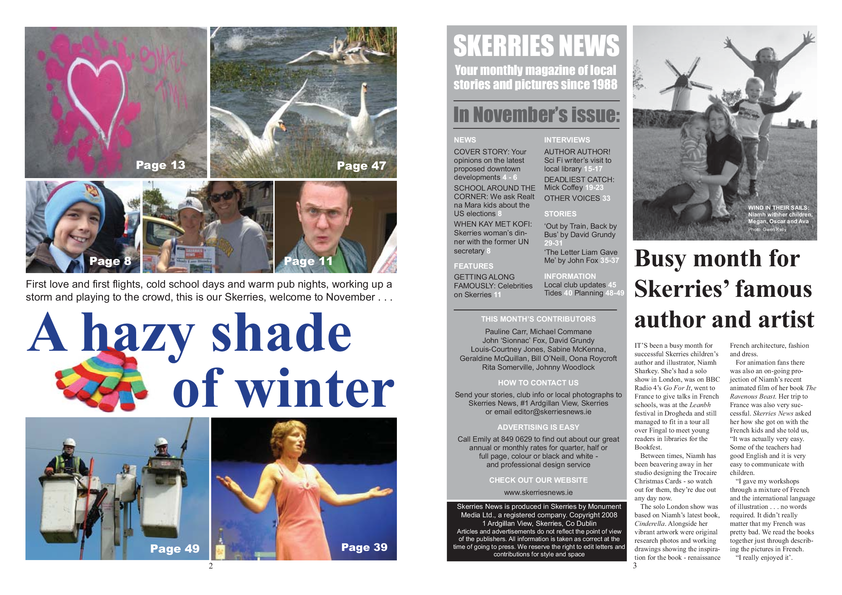 Skerries News November 2008