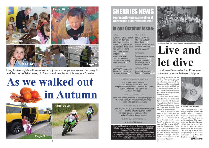 Skerries News October 2008