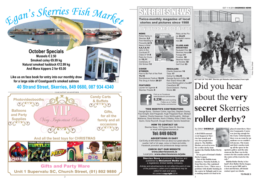 Skerries News October 2014