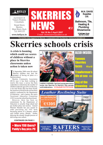 Skerries News April 2007