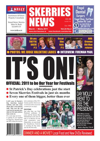 Skerries News March 2011