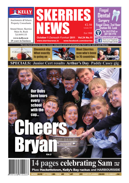 Skerries News October 2011