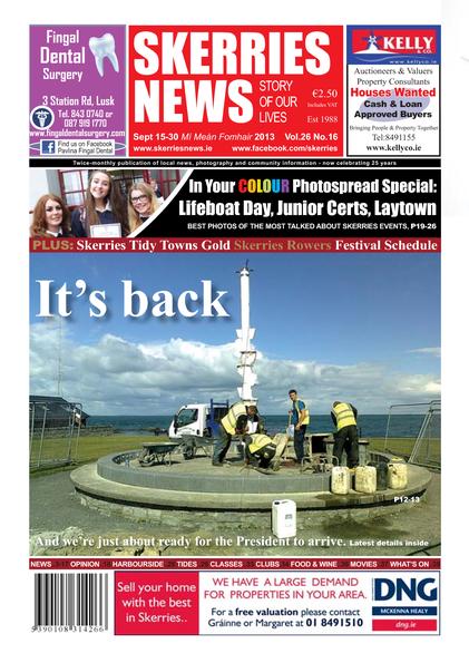 Skerries News September Mid 2013