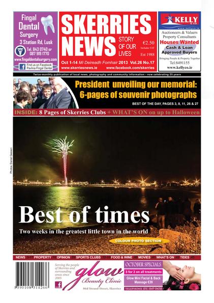 Skerries News October 2013