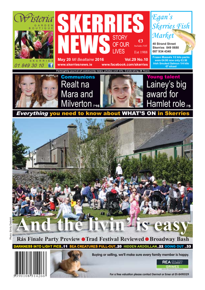 Skerries News May 20th 2016