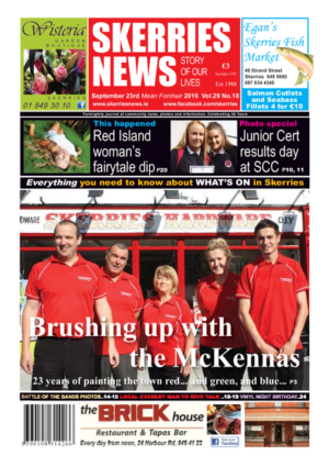 Skerries News September 23rd 2016