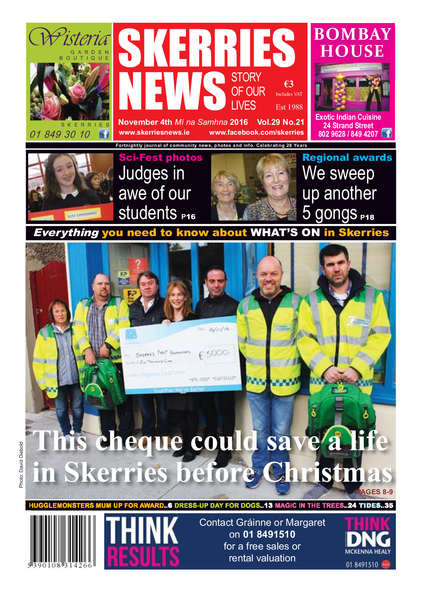 Skerries News November 4th 2016