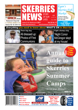 Skerries News June 2nd 2017