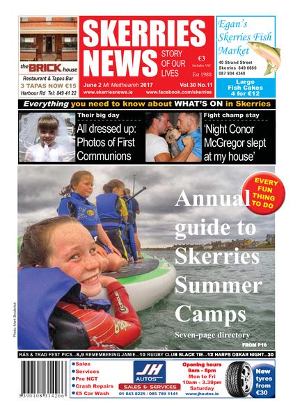 Skerries News June 2nd 2017