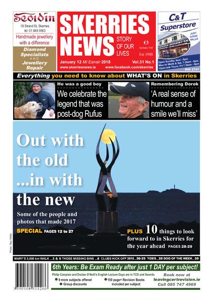 Skerries News January 12th 2018