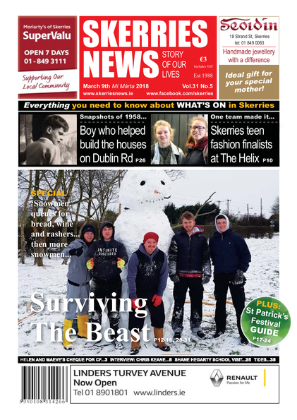Skerries News March 9th 2018